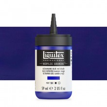 Liquitex : Professional : Acrylic Gouache : 59ml : Ultramarine Blue (Red Shade)