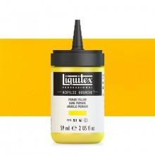 Liquitex : Professional : Acrylic Gouache : 59ml : Primary Yellow
