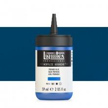 Liquitex : Professional : Acrylic Gouache : 59ml : Primary Blue