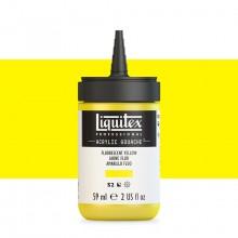 Liquitex : Professional : Acrylic Gouache : 59ml : Fluorescent Yellow
