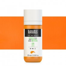 Liquitex : Professional : Soft Body Acrylic Paint : 237ml : Cadmium-Free Orange