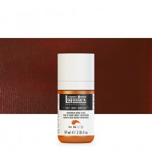 Liquitex : Professional : Soft Body Acrylic Paint : 59ml : Transparent Burnt Sienna