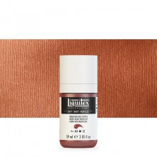Liquitex : Professional : Soft Body Acrylic Paint : 59ml : Iridescent Rich Copper