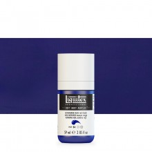 Liquitex : Professional : Soft Body Acrylic Paint : 59ml : Ultramarine Blue Red Shade