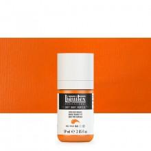 Liquitex : Professional : Soft Body Acrylic Paint : 59ml : Vivid Red Orange