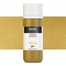 Liquitex : Professional : Soft Body Acrylic Paint : 946ml : Iridescent Bright Gold