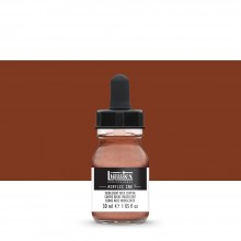 Liquitex : Professional : Acrylic Ink : 30ml : Iridescent Rich Copper