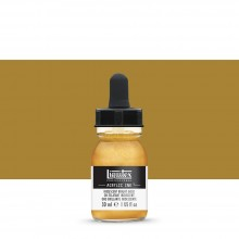 Liquitex : Professional : Acrylic Ink : 30ml : Iridescent Bright Gold