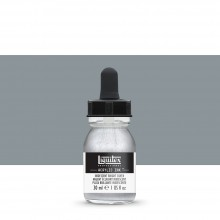 Liquitex : Professional : Acrylic Ink : 30ml : Iridescent Bright Silver
