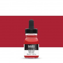 Liquitex : Professional : Acrylic Ink : 30ml : Naphthol Crimson