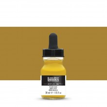 Liquitex : Professional : Acrylic Ink : 30ml : Yellow Oxide