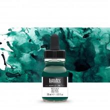 Liquitex : Professional : Acrylic Ink : 30ml : Muted Green
