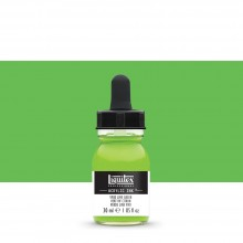 Liquitex : Professional : Acrylic Ink : 30ml : Vivid Lime Green