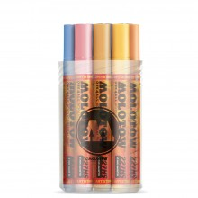 Molotow : One4All : 227HS : Acrylic Marker : 4mm : Pastel Kit I : Set of 12