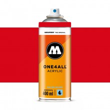 Molotow : One4All : Acrylic Spray Paint : 400ml : Traffic Red : Ship By Road Only