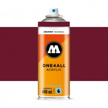 Molotow : One4All : Acrylic Spray Paint : 400ml : Burgundy Red : Ship By Road Only
