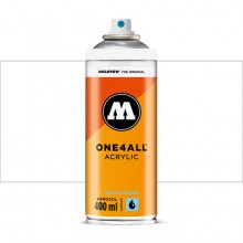 Molotow : One4All : Acrylic Spray Paint : 400ml : Signal White : Ship By Road Only
