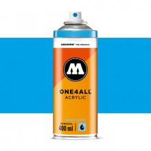 Molotow : One4All : Acrylic Spray Paint : 400ml : Shock Blue Middle : Ship By Road Only