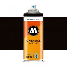 Molotow : One4All : Acrylic Spray Paint : 400ml : Signal Black : By Road Parcel Only