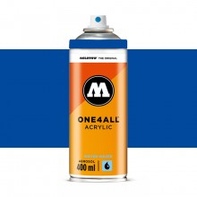 Molotow : One4All : Acrylic Spray Paint : 400ml : True Blue : By Road Parcel Only