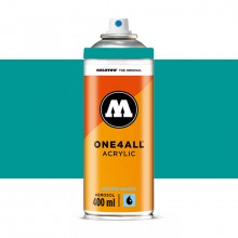 Molotow : One4All : Acrylic Spray Paint : 400ml : Lagoon Blue : By Road Parcel Only