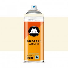 Molotow : One4All : Acrylic Spray Paint : 400ml : Nature White : By Road Parcel Only