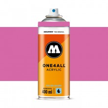 Molotow : One4All : Acrylic Spray Paint : 400ml : Fuchsia Pink : Ship By Road Only