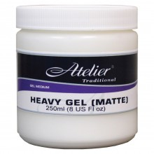 Atelier : Acrylic Medium : 250ml : Heavy Gel : Matte