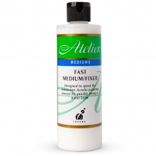 Atelier : Acrylic Medium : 250ml : Fast Medium/Fixer