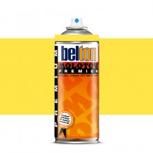 Molotow : Belton Premium Spray Paint : 400ml : Zinc Yellow 002 : Ship By Road Only