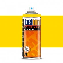 Molotow : Belton Premium Spray Paint : 400ml : Cadmium Yellow 003 : Ship By Road Only