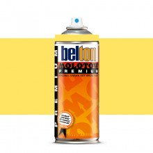 Molotow : Belton Premium Spray Paint : 400ml : Cashmere Yellow 007 : Ship By Road Only