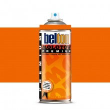 Molotow : Belton Premium Spray Paint : 400ml : Dare Orange Light 013 : Ship By Road Only