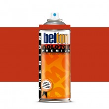 Molotow : Belton Premium Spray Paint : 400ml : Vermillion 030 : Ship By Road Only