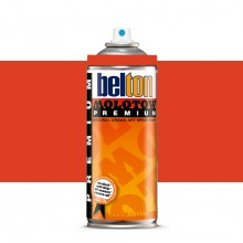 Molotow : Belton Premium Spray Paint : 400ml : Shock Orange 031 : Ship By Road Only