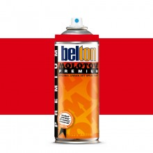 Molotow : Belton Premium Spray Paint : 400ml : Mad C Cherry Red 032 : Ship By Road Only