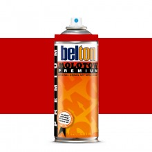 Molotow : Belton Premium Spray Paint : 400ml : Signal Red 033 : By Road Parcel Only