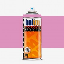 Molotow : Belton Premium Spray Paint : 400ml : Tilt Bubble Pink 057 : Ship By Road Only