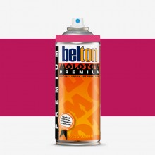Molotow : Belton Premium Spray Paint : 400ml : Telemagenta 060 : Ship By Road Only