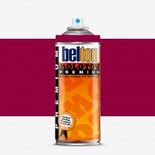 Molotow : Belton Premium Spray Paint : 400ml : Amaranth Red 061 : Ship By Road Only
