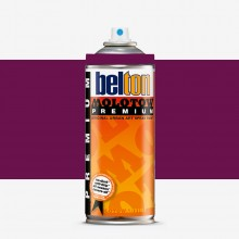 Molotow : Belton Premium Spray Paint : 400ml : Macrew Purple 062 : Ship By Road Only
