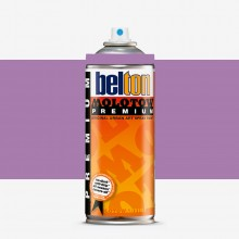 Molotow : Belton Premium Spray Paint : 400ml : Lilac 066 : By Road Parcel Only