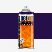 Molotow : Belton Premium Spray Paint : 400ml : Black Violet 072 : Ship By Road Only
