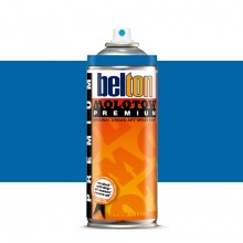 Molotow : Belton Premium Spray Paint : 400ml : Tulip Blue Middle 096 : Ship By Road Only