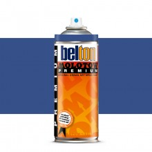 Molotow : Belton Premium Spray Paint : 400ml : Wild Wane Blue 101 : Ship By Road Only