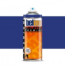 Molotow : Belton Premium Spray Paint : 400ml : Navy Blue 102 : Ship By Road Only