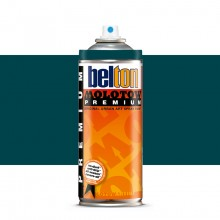 Molotow : Belton Premium Spray Paint : 400ml : Turquoise Dark 128 : Ship By Road Only