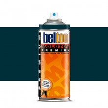 Molotow : Belton Premium Spray Paint : 400ml : Black Turquoise 130 : Ship By Road Only