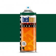 Molotow : Belton Premium Spray Paint : 400ml : Turquoise Green Dark 142 : Ship By Road Only
