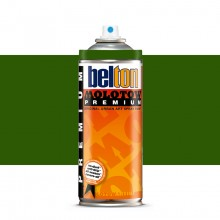 Molotow : Belton Premium Spray Paint : 400ml : Moss Green 165 : Ship By Road Only